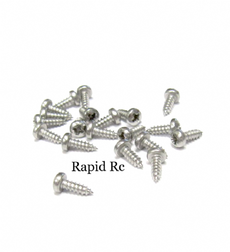 2.2mm x 6.5mm Stainless steel pan Head Phillips Self Tapping screw